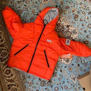 DKNY x Urban Outfitters reversable puffer jacket